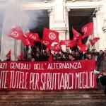 Roma, Contestazione agli Stati Generali dell'Alternanza.